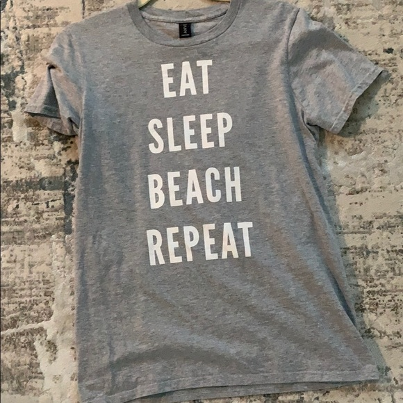 Tops - Eat Sleep Beach Tee